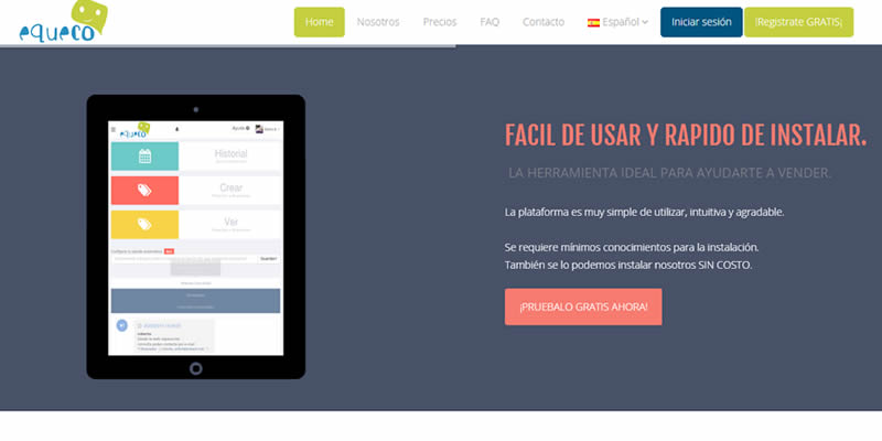 Equeco.net «Chat Online»